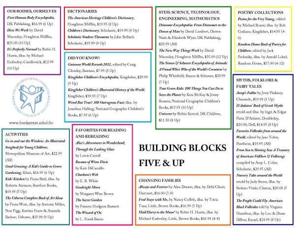 Building Blocks 5 and Up