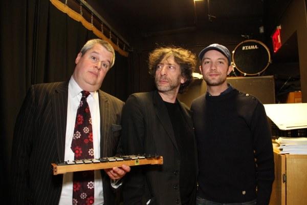 Daniel, Neil, and Jon wait in the wings