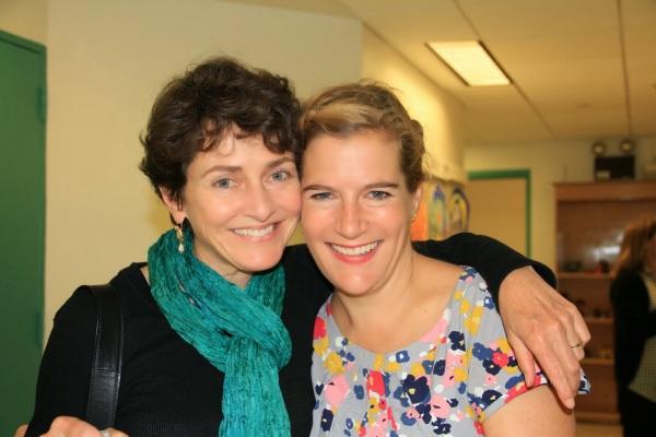 Annie Barrows (l) and Sophie Blackall (r)