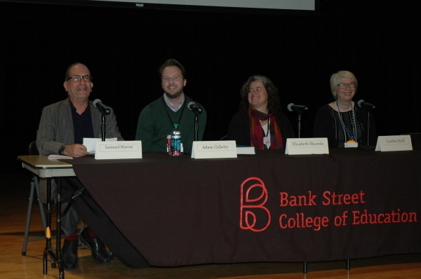 Adam joined us this year for a Teachers as Writers panel at BookFest