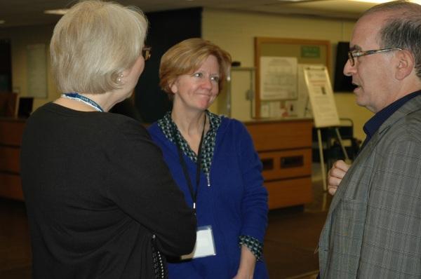 Jenny Brown and historian Leonard S. Marcus