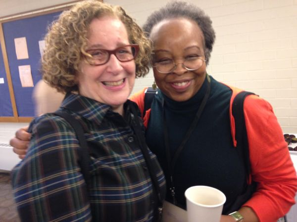 Monica Edinger and Rita Williams-Garcia