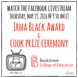 Irma Black Award and Cook Prize Ceremony 5_19_2016